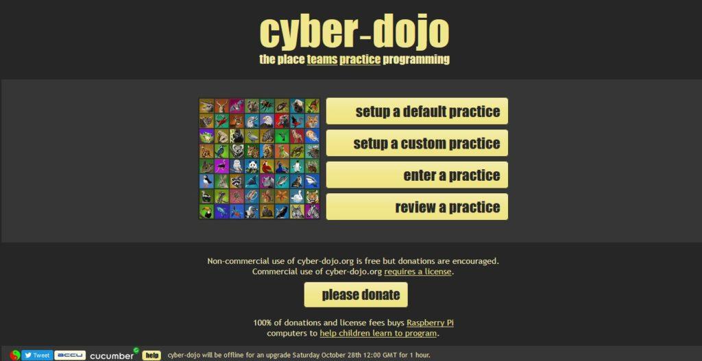 cyber.do-joトップ画面